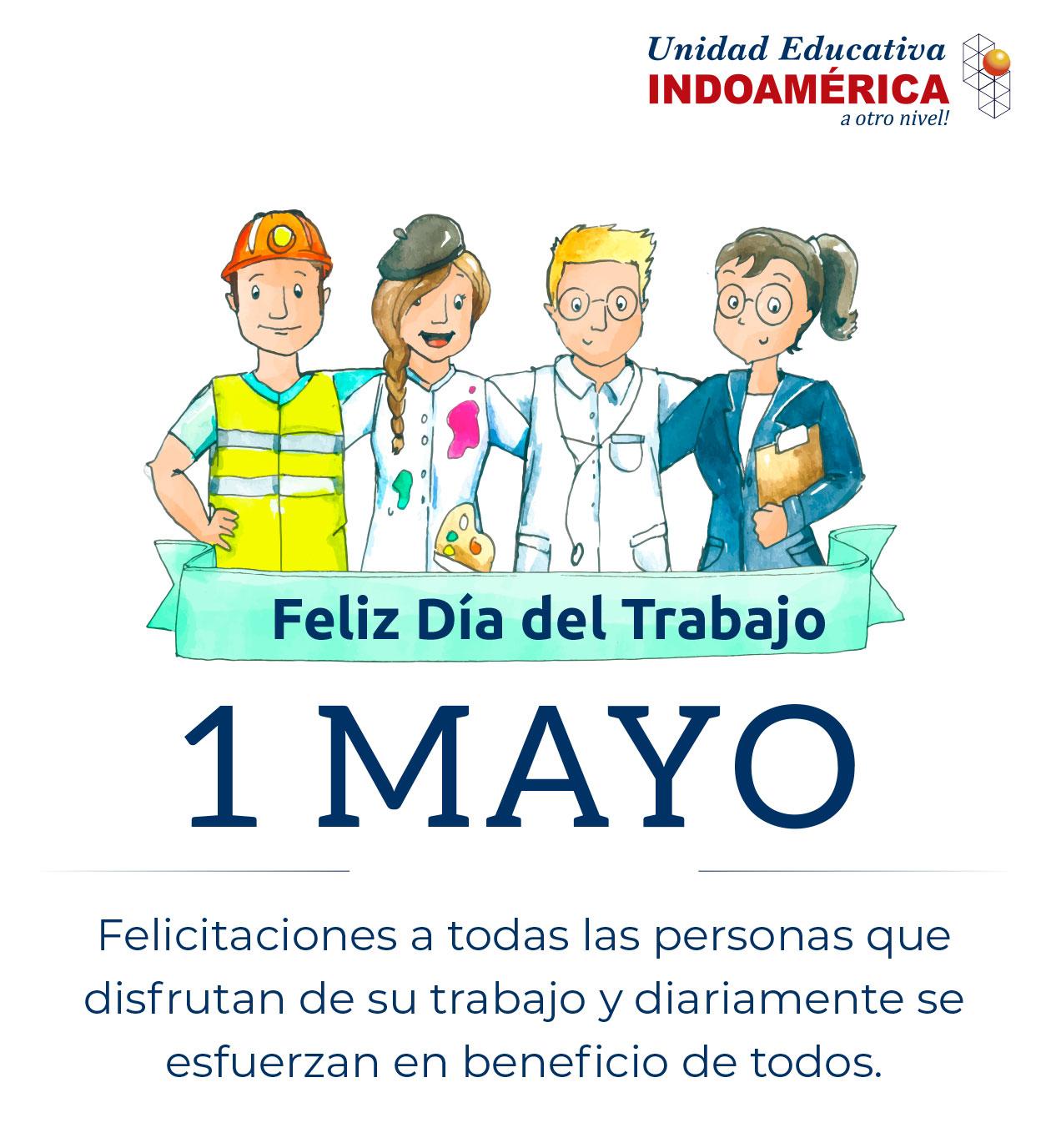 Feliz Día del Trabajo - 1 de Mayo