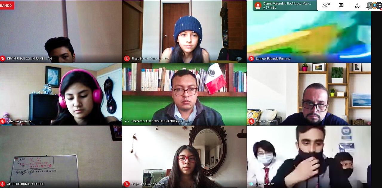 Empezó con mucho entusiasmo el Encuentro Internacional de Colegios de México, Ecuador y Colombia