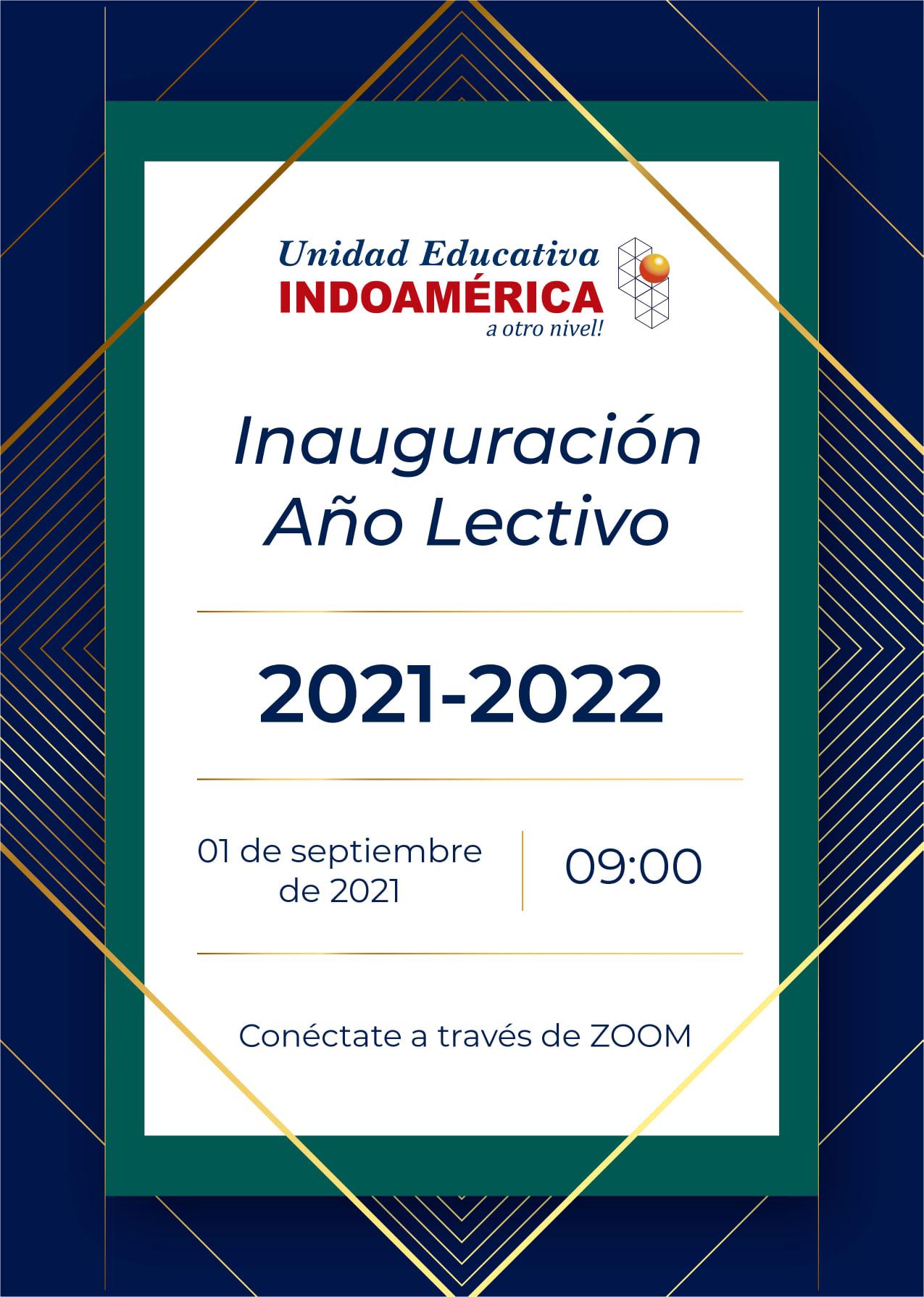 Inauguración Año Lectivo 2021-2022