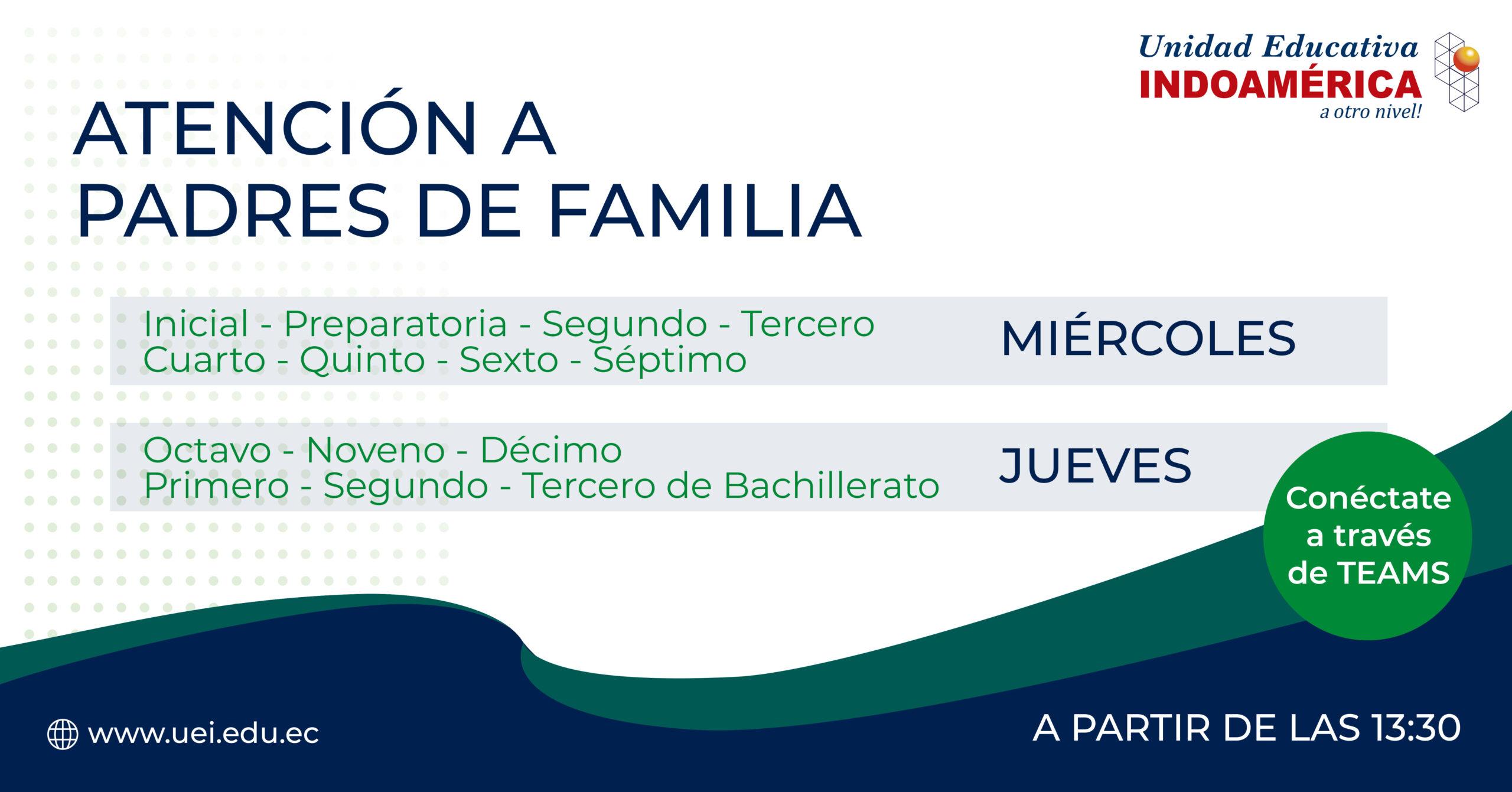 Atención a Padres de Familia