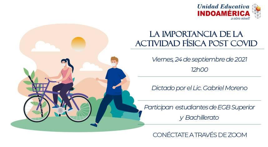 Evento: La importancia de la Actividad Física Post Covid