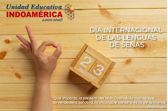Día Internacional del Lenguaje de Señas