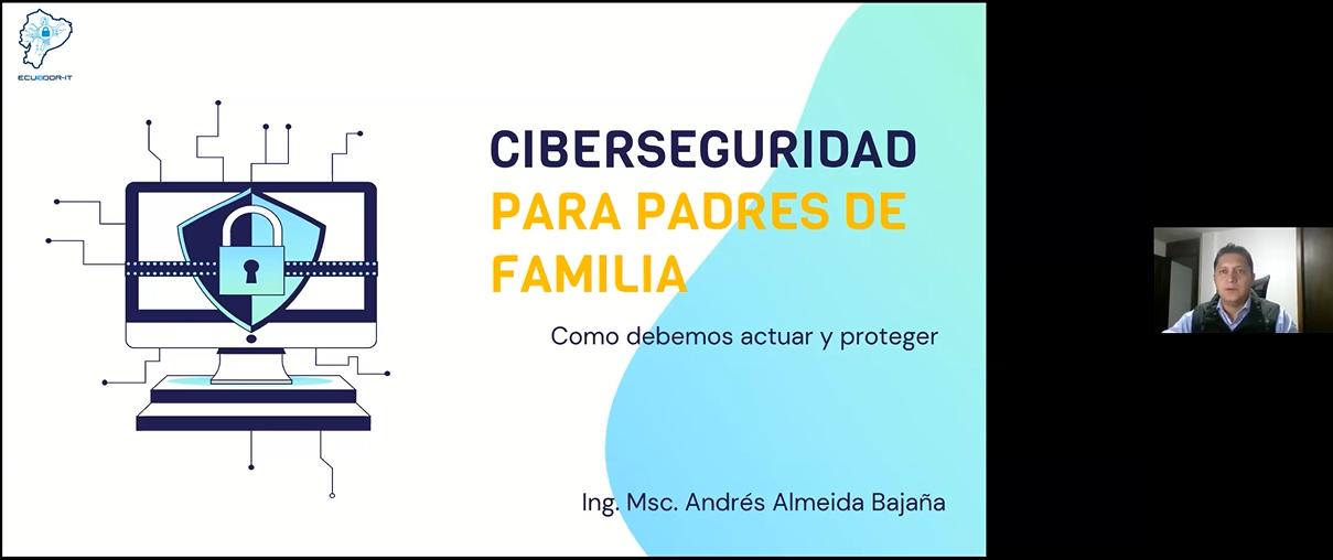 Escuela para Padres: Charla - Ciberseguridad